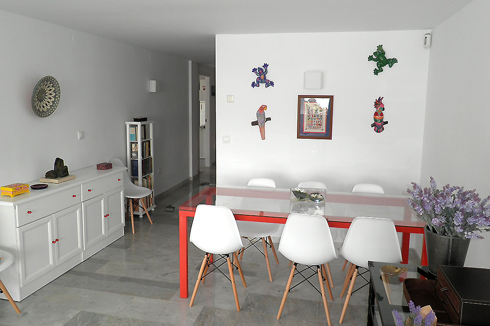 Townhouse Estepona Dining area