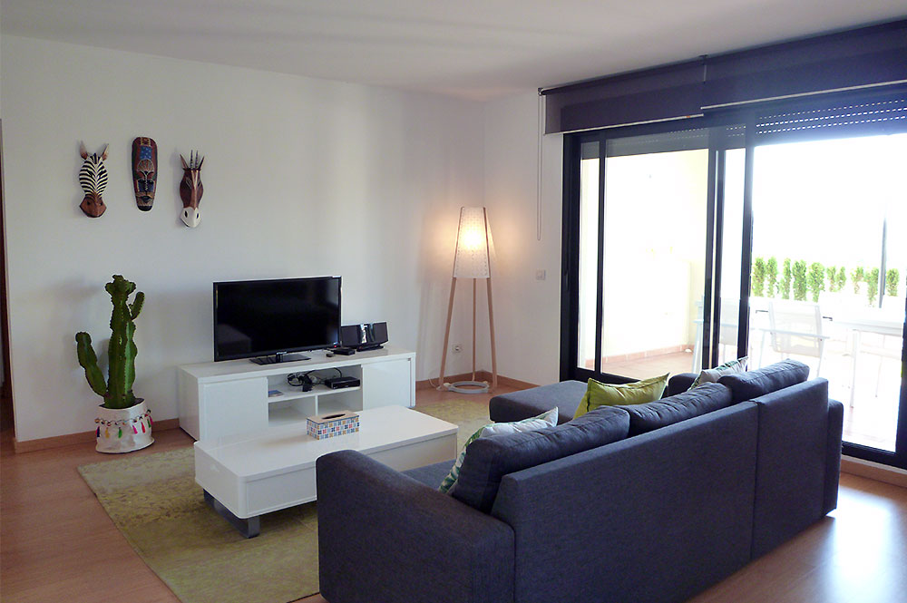 Apartment Estepona The lounge