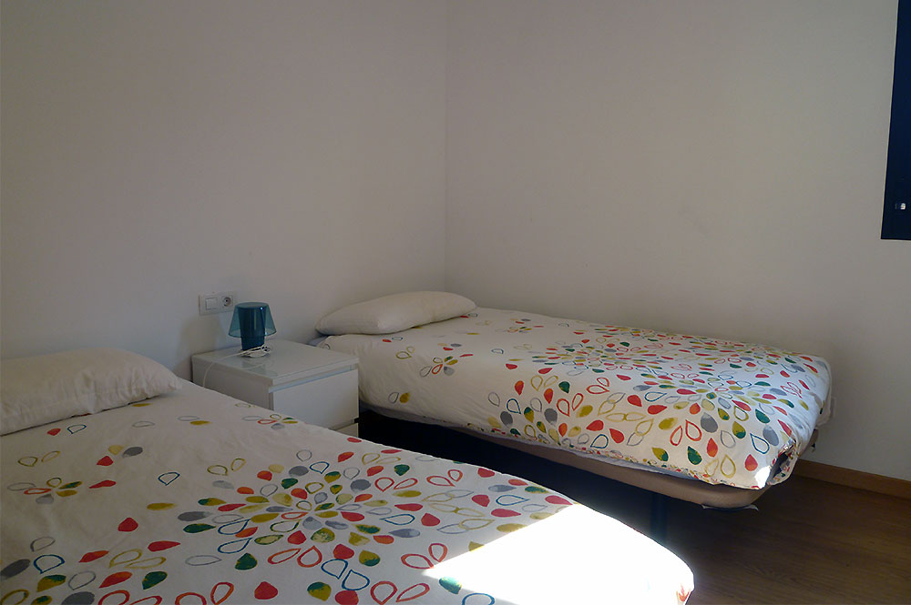 Apartment Estepona Bedroom single beds