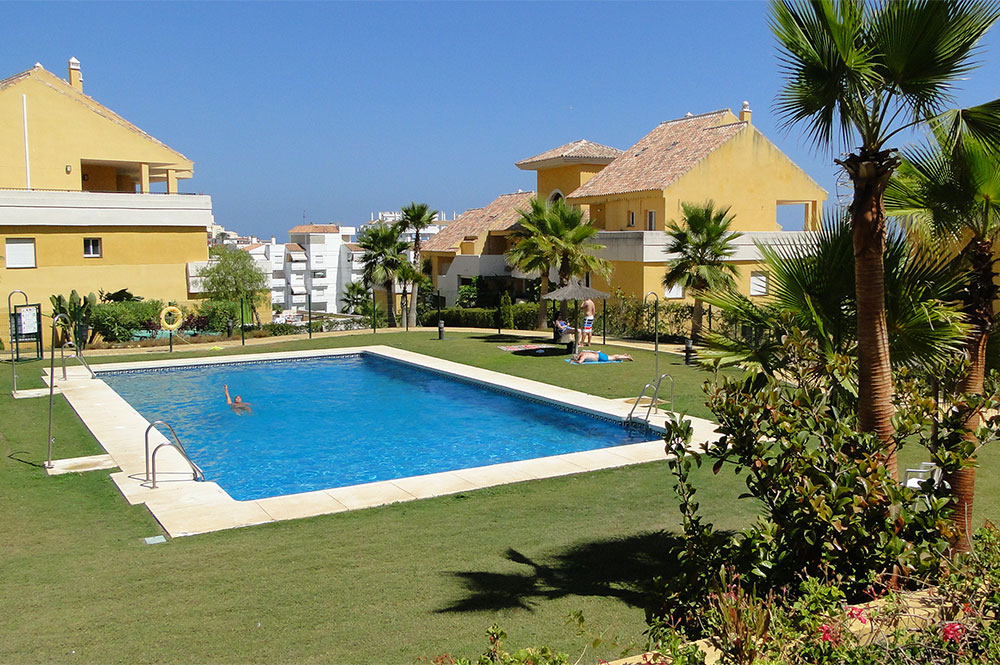 Appartement Estepona Piscine commune