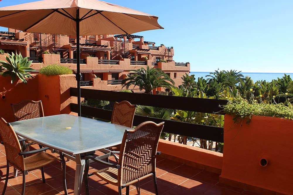Apartment Estepona Terrace sea views