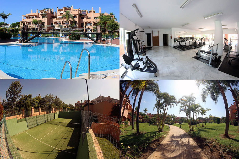 Appartement Estepona Gymnase - Padel Tennis - Piscines