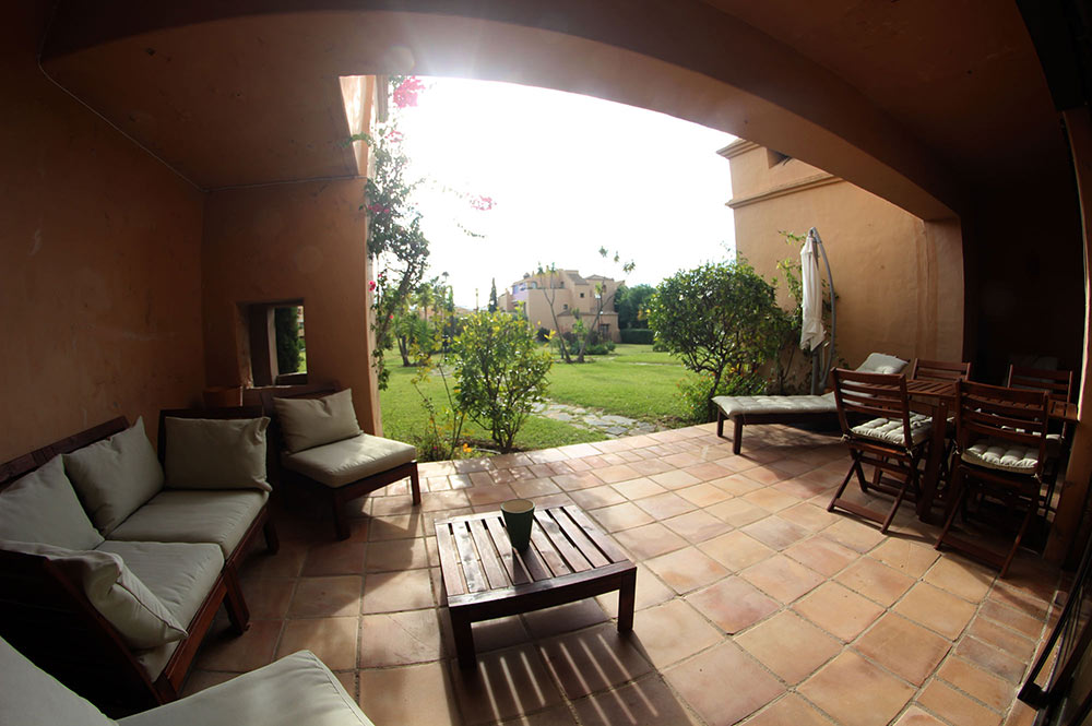 Apartment Estepona Terrace garden views