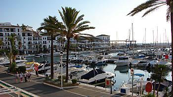 Puerto la Duquesa vue generale