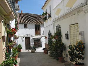 Estepona vieille ville