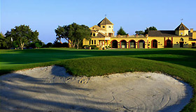 Le club house San Roque golf resort golf costa del sol