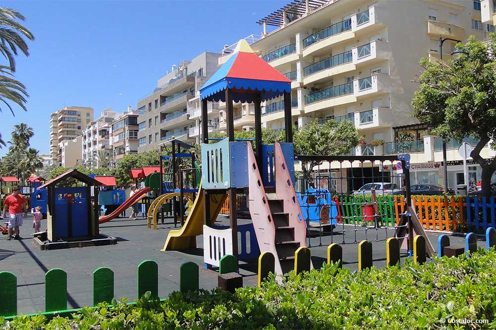Estepona Costa del Sol children play ground