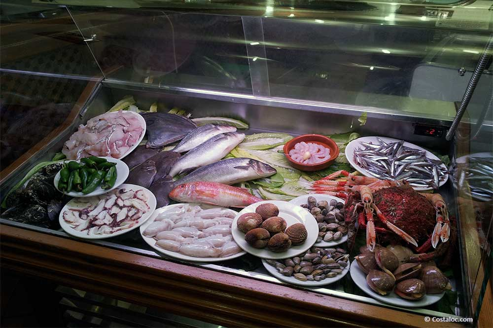 Estepona Costa del Sol fresh fish