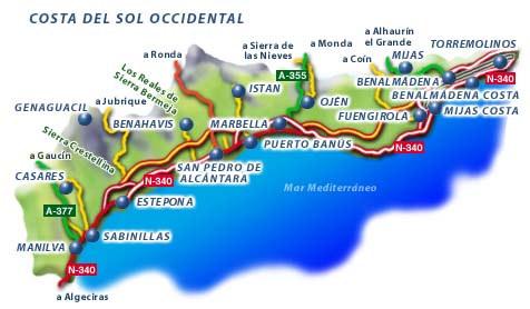 Estepona. Informations générales. Estepona Costa del Sol. Sud de l