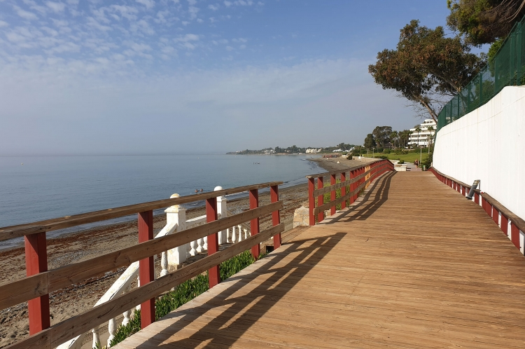 Chemin du littoral Estepona