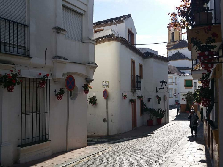 Estepona la vieille ville