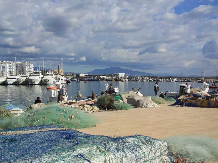 le port à Estepona