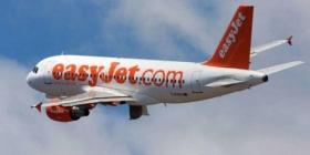 Avion  Easy Jet moitié plein vers la Costa del Sol